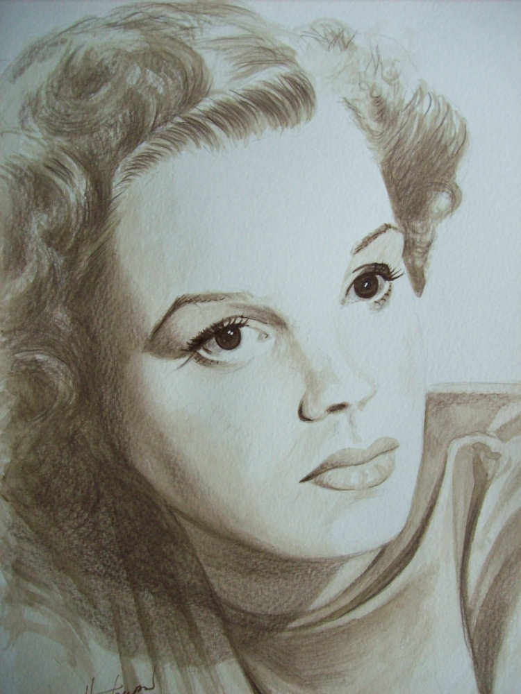 Judy Garland by Tom-Heyburn